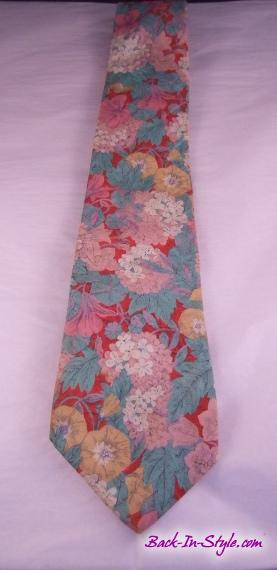 liberty-red-aqua-cotton-tie-1