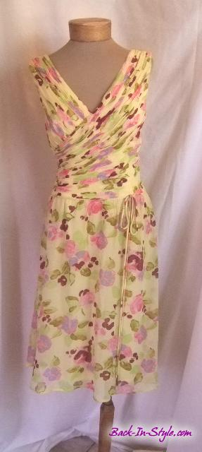 oleg-cassini-yellow-floral-1