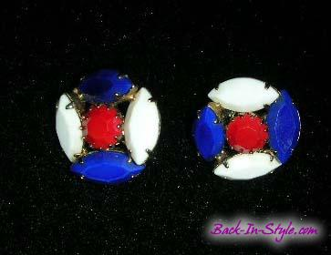 red-white-blue-button-ear-clips-1